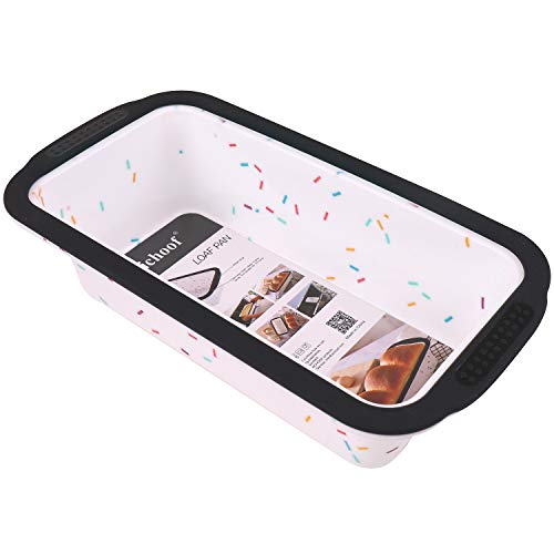 Silicone Loaf Pan with Reinforced Steel Frame Inside