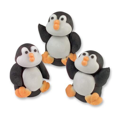 Günthart Zuckerpinguine, 6 Stück aus Zucker, Südpol Pinguine