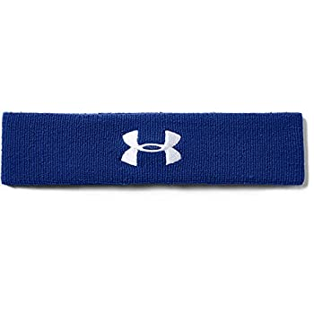 Under Armour Men s Performance Headband  Royal Blue  400 /White  One Size Fits All