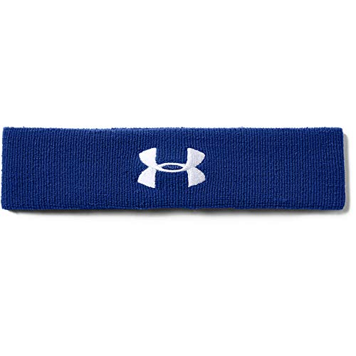 Under Armour Men's Performance Headband , Royal Blue (400)/White , One Size Fits All