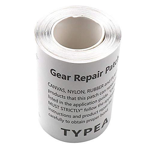 YYWJ Cinta de reparación de tienda de campaña, 5 piezas/1 rollo TPU transparente impermeable parche para tienda de campaña