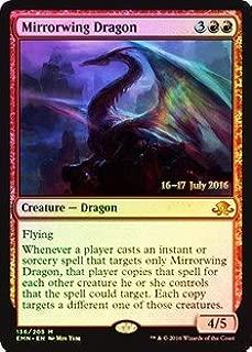 Magic: the Gathering - Mirrorwing Dragon (136/205) - Prerelease & Release Promos - Foil