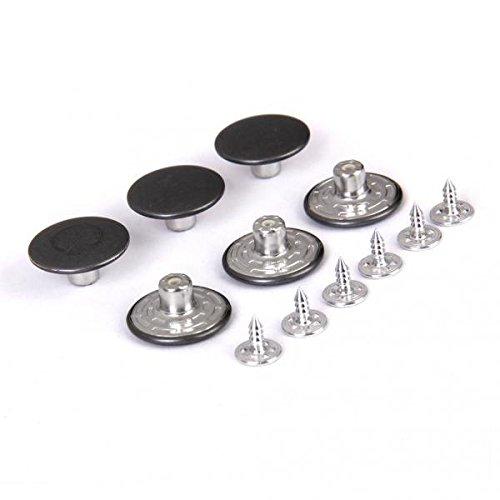 FITYLE 30x Metalen Drukknopen 20 Mm voor Spijkerbroeken Vervang Verlengstuk