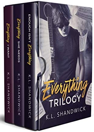 Everything Trilogy A Second Chance New Adult Rock Star Romance product image