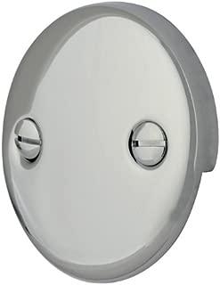 Kingston Brass DTT101 Bath Tub Overflow Plate, Polished Chrome