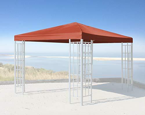 QUICK STAR Ersatzdach für Rank Pavillon 3x3m Terra Ersatzbezug Pavillondach