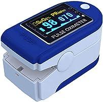 E T EASYTAO Oxímetro de Pulso de Dedo con Pantalla OLED, Monitor Digital de Frecuencia Cardíaca PR y Saturación de...