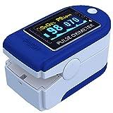 E T EASYTAO Oxímetro de Pulso de Dedo con Pantalla OLED, Monitor Digital de Frecuencia...