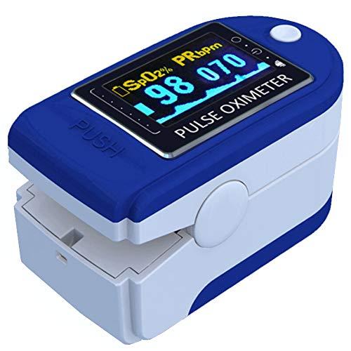 E T EASYTAO Oxímetro de Pulso de Dedo con Pantalla OLED, Monitor Digital de Frecuencia Cardíaca PR y Saturación de Oxígeno en Sangre SpO2 para Detección y Monitorear D