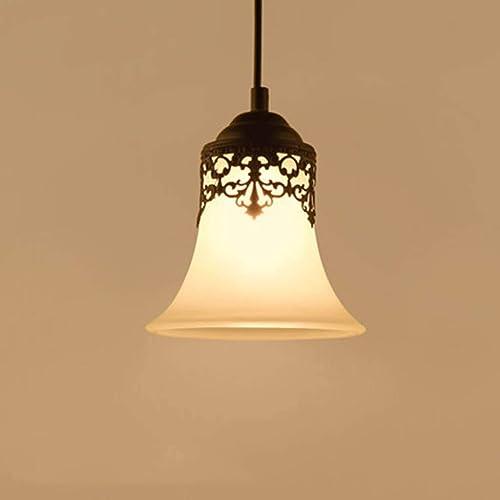 WENYAO Chandelier Personnalité Créative Bar Salon Lampes Retro Simple Tête Trois Restaurant Simple Lumières Divers (Couleur  A)