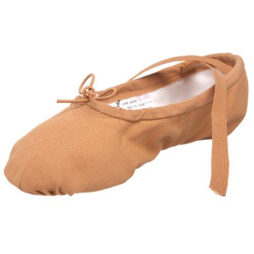 Sansha Pro 1 Ballettschuh, Segeltuch, Braun (fleischfarben), 44 EU