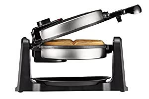 PERFECT WAFFLES: Extra thick non-stick waffle plates will help you easily remove your waffles without damaging them to create deliciously perfect restaurant-style waffles every time; allowing you to take on even more fruit, ice cream, syrup and endle...