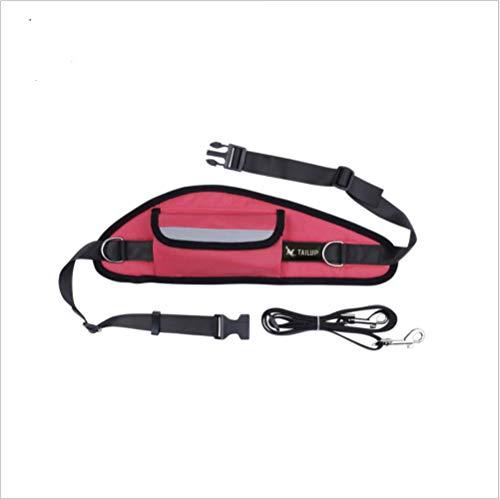 YAMERIJIA dierbenodigdheden, riemen, controleerbaar, veilig, veranderende handen, hondenriem, praktisch, mooi, rood