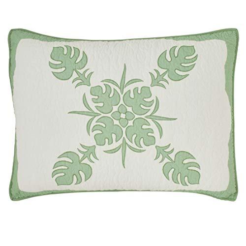 Tommy Bahama Molokai - Funda de Almohada (algodón), Color Verde