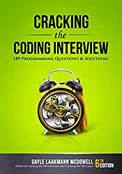 book title Cracking the Coding Interview: 189 Programming Questions and Solutions