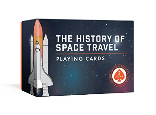 The History of Space Travel Playing Cards: Two Decks of Cards and Game Rules Booklet with Space Trivia (Pop Chart Lab)