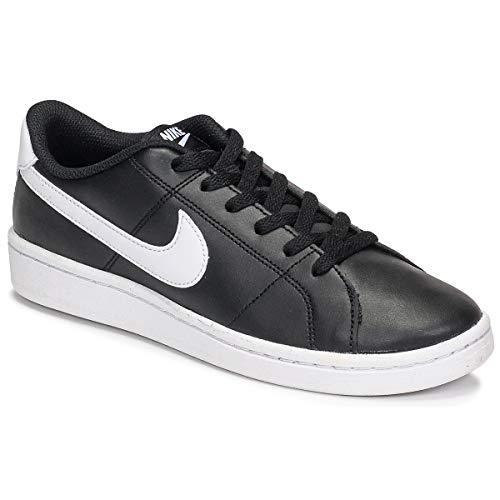 Nike Wmns Court Royale 2, Zapatos de Tenis Mujer, Blanco y Negro, 37.5 EU