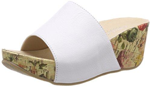 Andrea Conti Damen 1545707 Pantoletten, Weiß (Weiß), 38 EU
