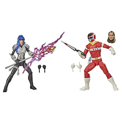 Power Rangers Lightning Collection in Space Red Ranger Versus Astronema 2-Pack 6-Inch Premium Collectible Action Figure Toys with Accessories