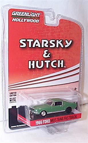 Greenlight Collectables starsky & hutch 1966 Ford Mustang auto 1:64 scala limitata modello pressofuso