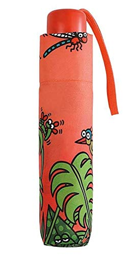Paraguas Infantil Plegable Kukuxumusu Bird Naranja