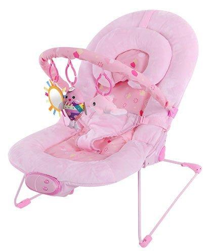 Silla mecedora de lujo reclinable, vibradora y musical para bebé, Con soporte...