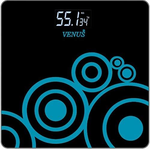 Venus Electronic Bathroom Scale (Black)