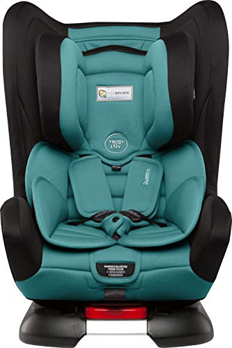 InfaSecure Quattro Astra 2013 Convertible Car Seat for 0 to 4 Years, Aqua