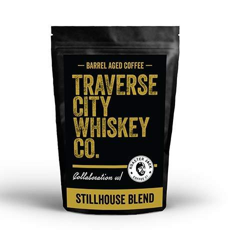 Traverse City Whiskey Co.   Barrel Aged Coffee - Stillhouse Blend 12oz - Medium Roasted Beans