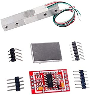 Digital Load Cell Weight Sensor 20kg Electronic Kitchen Scale + HX711 Weighing AD Module Geekstory