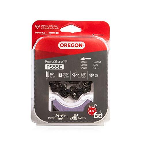 Oregon Ps55e powersharp chaîne tronç+affût