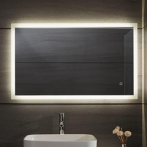 Aquamarin LED Badspiegel Bild