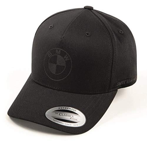 BMW ORIGINAL Baseball Cap Basecap Kappe Mütze Motorrad All Black