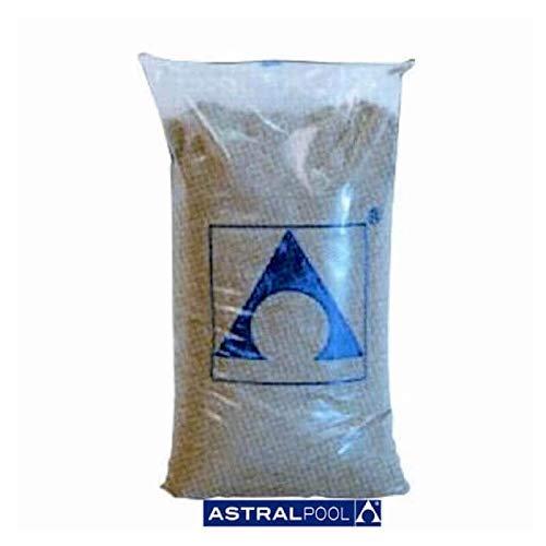 LordsWorld - Astralpool - (00596) 0.4-0.8mm Quarz-Sand für Sand 25Kg Filter - Sand und Glas für Sand Pool Filter Pools - 00596-Quarz
