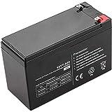 BeMatik - Batería sellada de Plomo-ácido de 12V 7.2Ah Recambio SAI