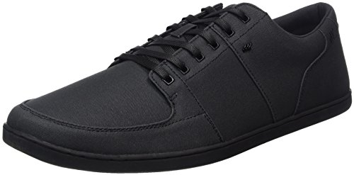 Boxfresh Herren Spencer Sneakers, Schwarz (Black/Black), 49 EU
