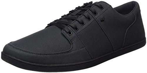 Boxfresh Herren Spencer Sneakers, Schwarz (Black/Black), 45 EU
