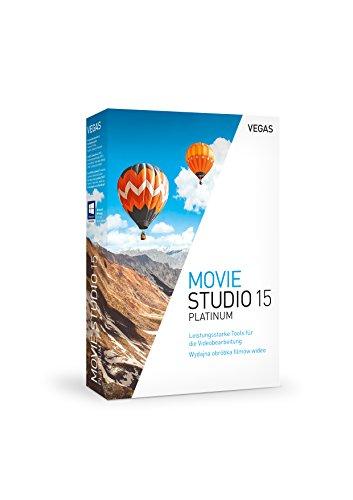 VEGAS Movie Studio 15 Platinum|15|1|0|Microsoft Windows 7,8,10, 64 bits|Disque