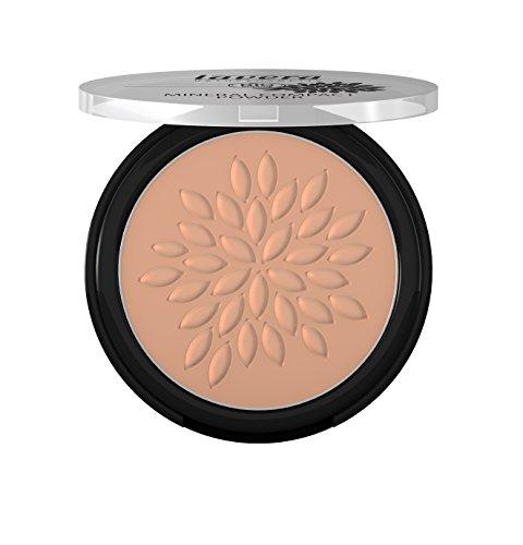 lavera Maquillaje polvo compacto mineral -Almond 05- vegano - cosméticos naturales 100% certificados - make up- 7 gr