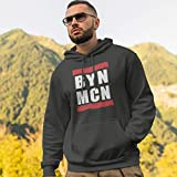 World of Football Herren Pullover Hoodie BYN MCN Bayern rot rot - XXL