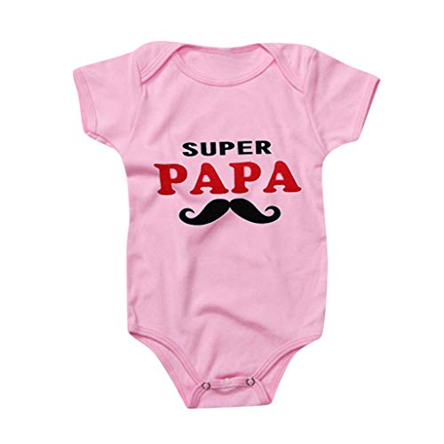 Geschenk Zum Valentinstag, Neugeborenes Baby Mädchen Jungen Ich Liebe Papa Strampler Body Valentinstag Kleidung, 0~24 Monate-Pwtchenty