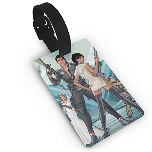 Archer Luggage Tag Personality Business ID Card Holder For Travel BaggageTags