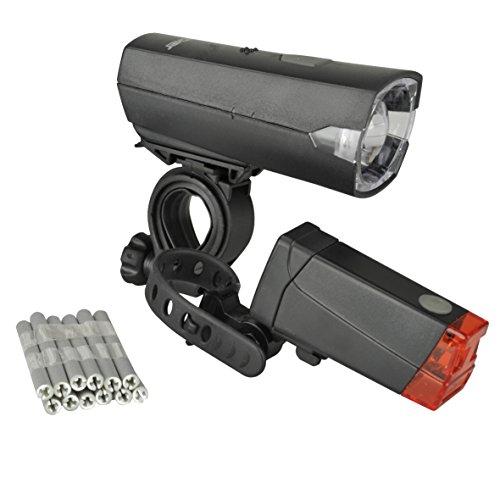 FISCHER Beleuchtungs LED Leuchten Set Lux 12 Speichensticks, One Size, 85337