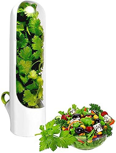 Vainilla fresca Mantener taza, vainilla Keep-Fresh Cup Conservación Vegetal Botella Herb Keeper-Mantiene los Verdes Frescos Copa Especialidad Herramientas