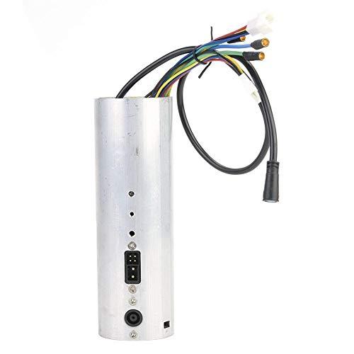 Aeloa Tablero de Control y Control de Scooter con Controlador USB Compatible con Piezas de Scooter eléctrico Plegable Xiaomi Ninebot ES2