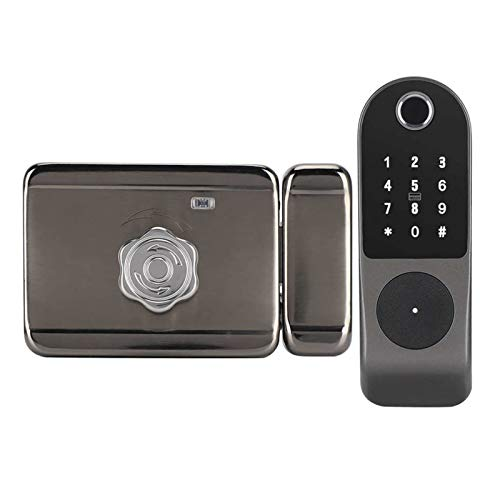 Padlock Controller Electric Bolt Lock Fingerprint Password ID Card Door Entry System Smart Lock Smart Access
