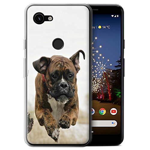 eSwish beschermhoes voor Google Pixel 3a XL/serie: Rassen/Hond Populares - Boxershorts