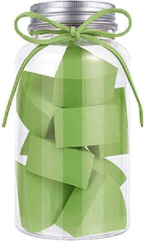 Detazhi Super Soft Petit Ventilateur en Forme de Bonbons Puff Conserve Clean No Jam Fond de Teint Poudre œufs 12 Bouteilles 4.5cm / Blanc Rose (Color : Green, Size : 4.5cm)