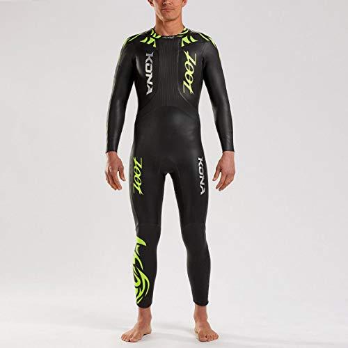 Zoot Herren Kona Neoprenanzug mit Tasche aus Yamamoto Neopren, ideal für Triathlon und Open Water-Swimming Größe ST