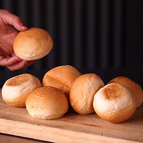 ミートガイ 冷凍ハンバーガー用ミニバンズ (スライダーバンズ) (8個) Frozen Hamburger Mini Buns/Slider Buns